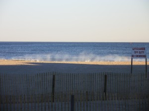 The Boardwalk in New Jersey: A wonderful autumn day walking near the shore and enjoying the view