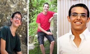REUTERS  Missing yeshiva students (left to right)Naphtali Fraenkel, Eyal Yifrach and Gil-ad Shaar.
