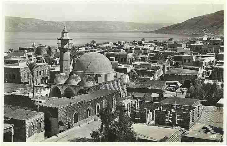 Tiberias in 1940